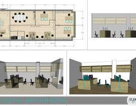 zoranaelek tarafından Office floor plan and furniture layout için no 29