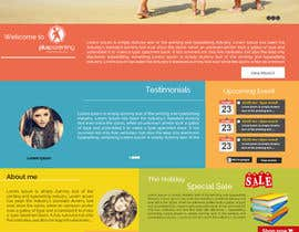codeunderground tarafından Design a Website Mockup for a Parenting Coach and Speaker için no 14