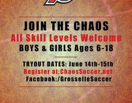 #15 for Design an Flyer for Soccer Tryouts / Sign ups REVISED - repost by ffciprian