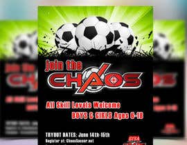 #18 cho Design an Flyer for Soccer Tryouts / Sign ups REVISED - repost bởi maq123