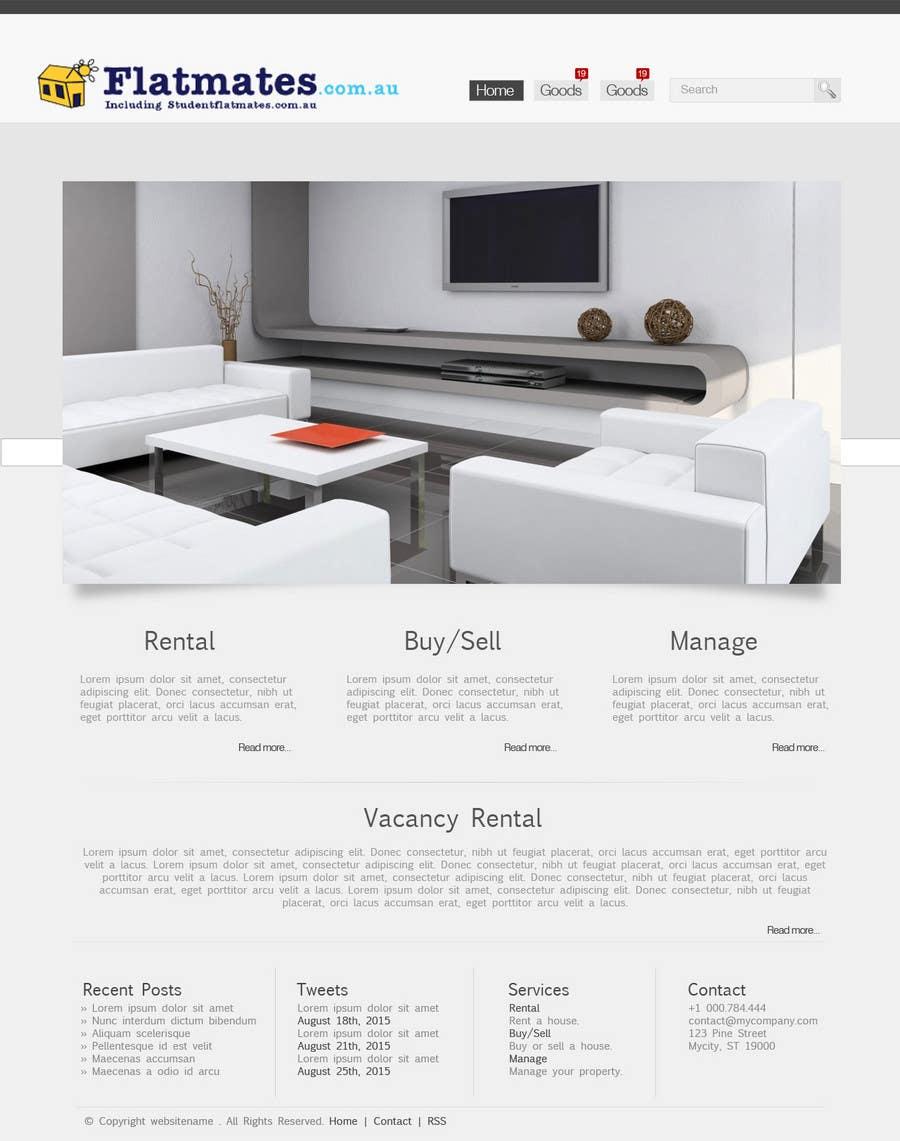 Inscrição nº                                         15                                      do Concurso para                                         Graphic Design for The business is called 'FindAFlat.com.au'
