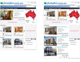 #9 para Graphic Design for The business is called 'FindAFlat.com.au' por mahidulhaq