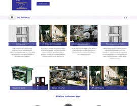 Lakshmipriyaom tarafından Design a Website Mockup for Restaurant Equipment Site için no 1