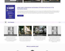 Lakshmipriyaom tarafından Design a Website Mockup for Restaurant Equipment Site için no 4