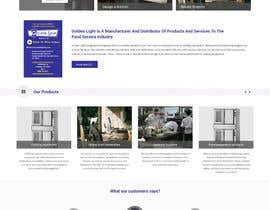 Nro 4 kilpailuun Design a Website Mockup for Restaurant Equipment Site käyttäjältä Lakshmipriyaom