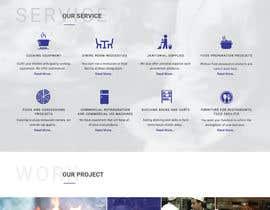 Nro 6 kilpailuun Design a Website Mockup for Restaurant Equipment Site käyttäjältä webmastersud