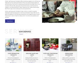 webmastersud tarafından Design a Website Mockup for Restaurant Equipment Site için no 20