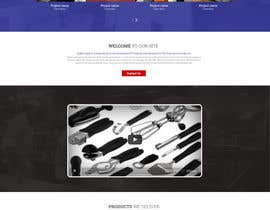 surajit666 tarafından Design a Website Mockup for Restaurant Equipment Site için no 15