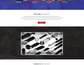 Nro 15 kilpailuun Design a Website Mockup for Restaurant Equipment Site käyttäjältä surajit666