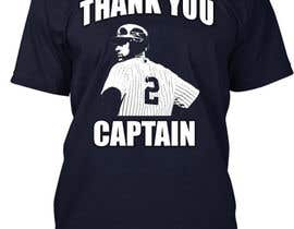 nº 1 pour Design a T-Shirt for Derek Jeter New York Yankees Farewell par StrbacDesign