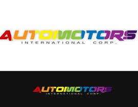 #122 for Design a Logo for Automotors International Corp af rogeliobello
