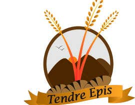 "#23 for ""Tendre Epis"" logo by harshgautam92"