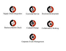 #27 para Design 7 Logos for each for one of the service titles below por edZartworkZ