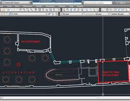 crystalARCH tarafından Please think a best floor plan for a new restaurant ( no Design) için no 2
