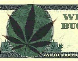 Nro 9 kilpailuun Marijuana Currency Fake Bill käyttäjältä eduardosaraujo