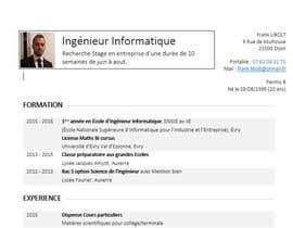 franklibolt tarafından Design a CV/Resume için no 1