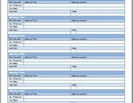 Nro 2 kilpailuun Design a newsletter template for briefing on activities. käyttäjältä BChSoftware