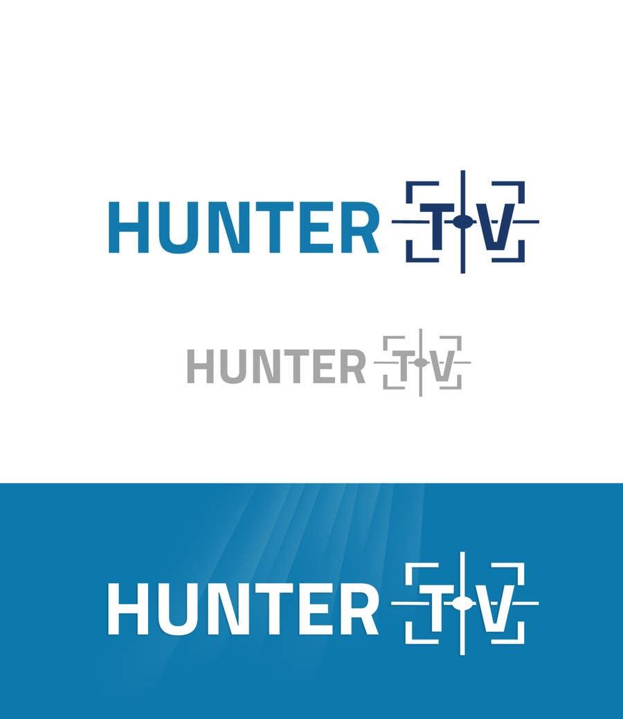 Конкурсная заявка №34 для Design a Logo for www.huntertv.org