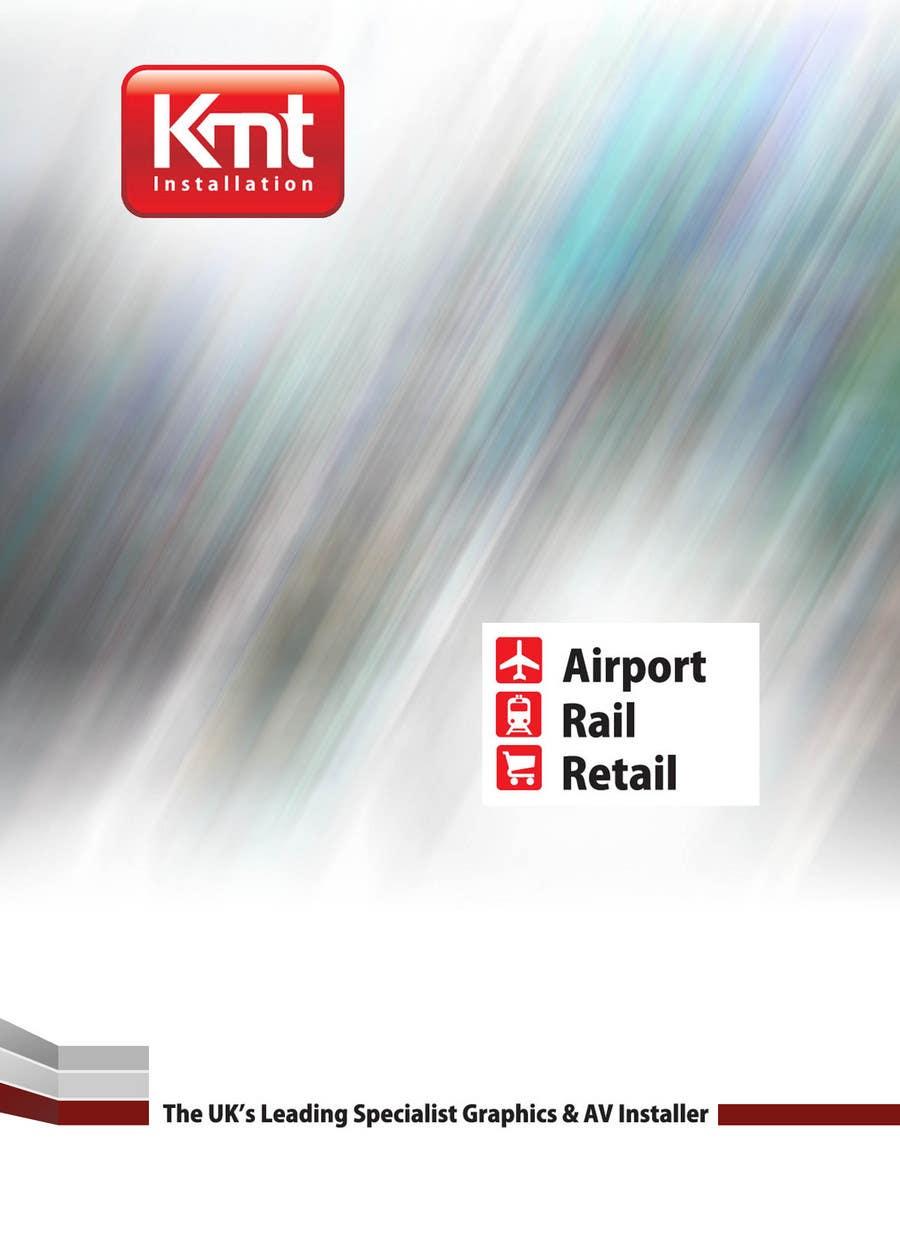 Kilpailutyö #                                        1                                      kilpailussa                                         Brochure Design for KeyMT Installation Ltd