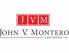 #136 para Logo Design for Law Office of John V. Montero por soniadhariwal