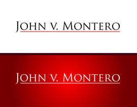 #19 untuk Logo Design for Law Office of John V. Montero oleh logoflair