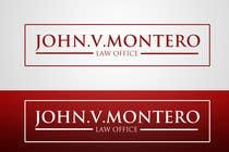 Graphic Design Contest Entry #67 for Logo Design for Law Office of John V. Montero