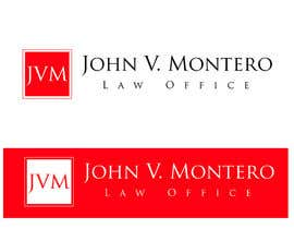 #73 untuk Logo Design for Law Office of John V. Montero oleh elgopi