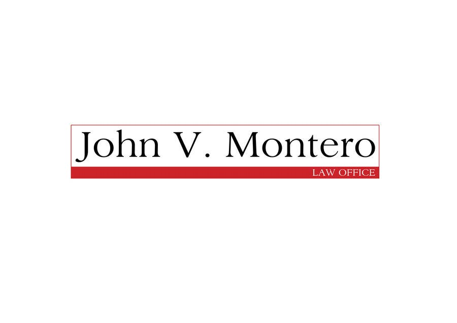 Contest Entry #61 for Logo Design for Law Office of John V. Montero