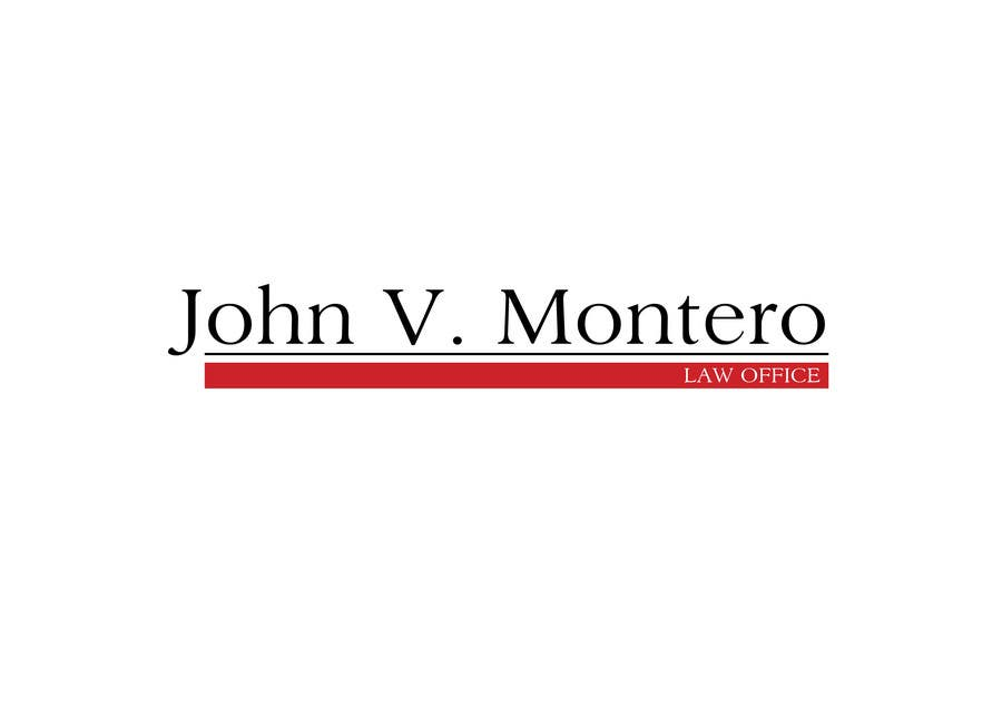 Contest Entry #172 for Logo Design for Law Office of John V. Montero