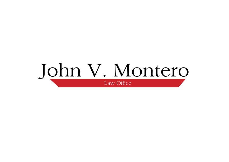 Inscrição nº 55 do Concurso para Logo Design for Law Office of John V. Montero