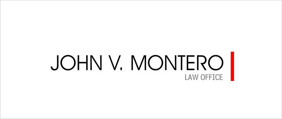 Inscrição nº 63 do Concurso para Logo Design for Law Office of John V. Montero