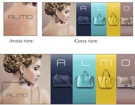 Nro 17 kilpailuun Designing a Facebook landing page for a brand of women handbags käyttäjältä MariaGraciaG