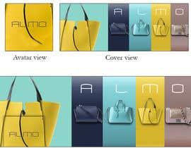 Nro 21 kilpailuun Designing a Facebook landing page for a brand of women handbags käyttäjältä MariaGraciaG