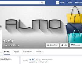Nro 8 kilpailuun Designing a Facebook landing page for a brand of women handbags käyttäjältä atayev2012