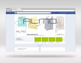 Nro 7 kilpailuun Designing a Facebook landing page for a brand of women handbags käyttäjältä jahidshuvo525