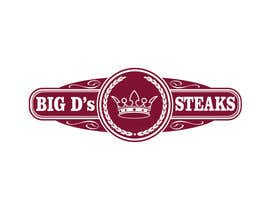 #59 para Design a logo for Big D's Steaks por parmitu