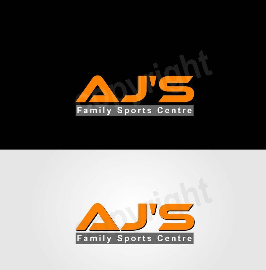 "Konkurrenceindlæg #3 for Design a Logo for AJ""s Sports Centre"
