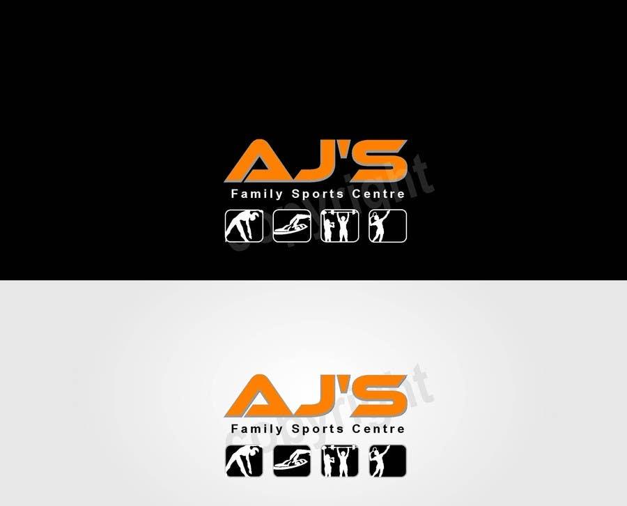 """Konkurrenceindlæg #12 for Design a Logo for AJ""""s Sports Centre"""