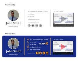 Nro 121 kilpailuun Email Footer/Signature Design käyttäjältä raximus