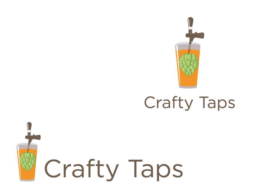 Penyertaan Peraduan #                                        39                                      untuk                                         Design a Logo for Crafty Taps