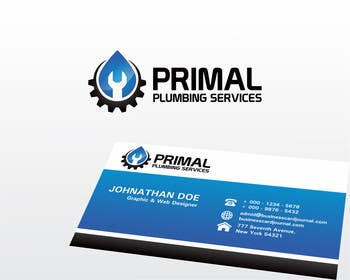 #87 for Design a Logo for PRIMAL PLUMBING SERVICES by tedi1