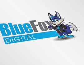 #55 untuk Design a Logo for Blue Fox Digital oleh MyPrints