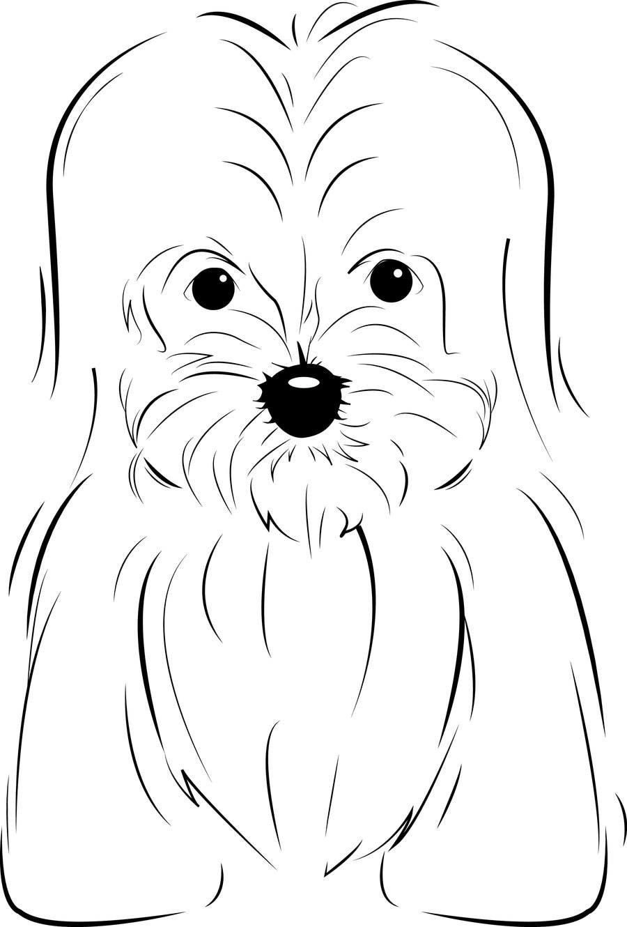 #26 for Logo / Drawing / Illustration of a dog by gadiid93