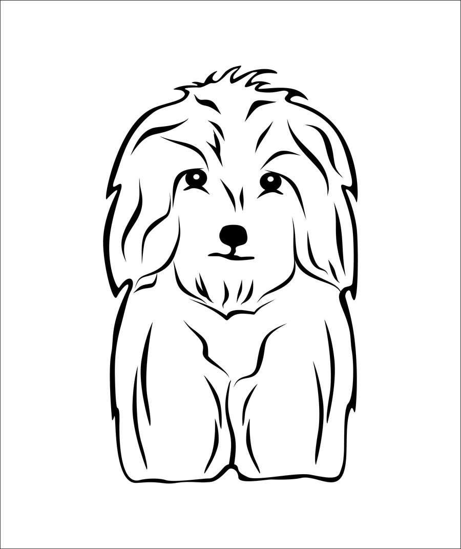 #40 for Logo / Drawing / Illustration of a dog by korodirazvan