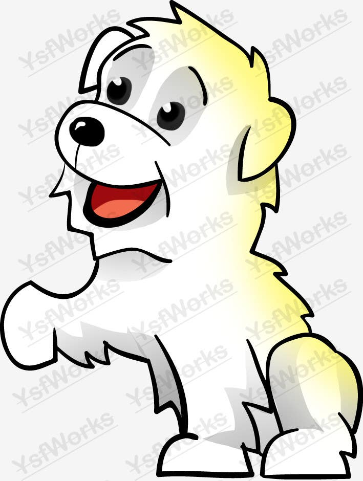 #39 for Logo / Drawing / Illustration of a dog by ysfworks