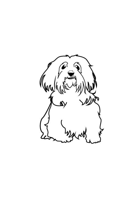 #13 for Logo / Drawing / Illustration of a dog by chiaying