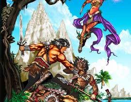 lenssens tarafından Provide cover art for a sword and sorcery book için no 61
