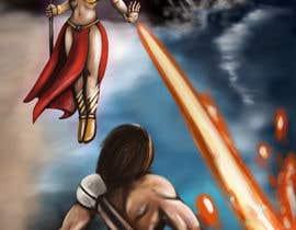mikrobyo tarafından Provide cover art for a sword and sorcery book için no 51