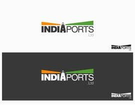 #146 for Logo Design for India Ports by djoshalfa