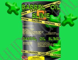 HudaMughal tarafından DESIGN OIL BARREL SLIME DISPLAY UNIT PACKAGING FOR SLIME ITEM için no 11